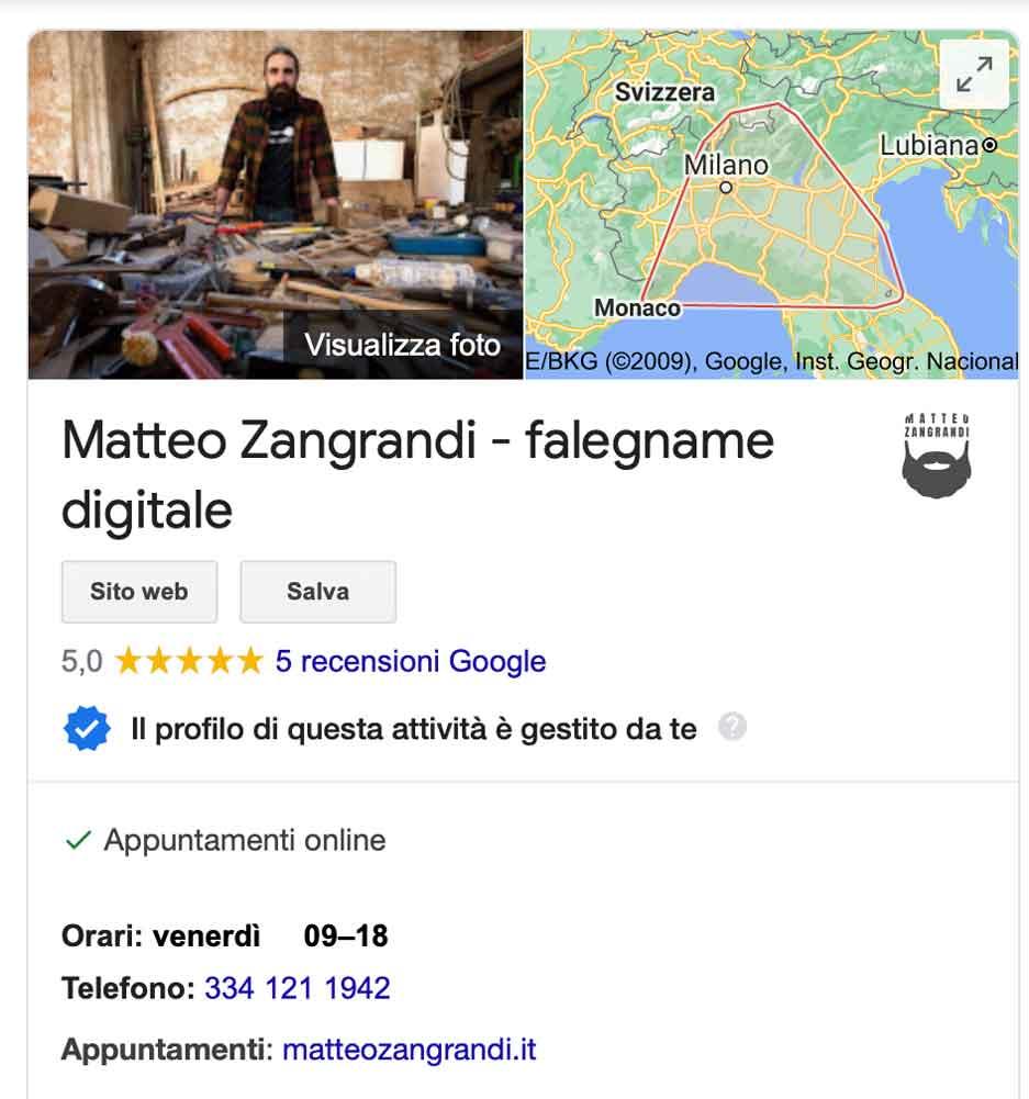 google my business per fare marketing a Piacenza
